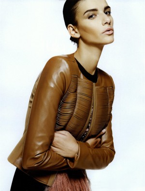 FAUX Leather in Haya Magazine