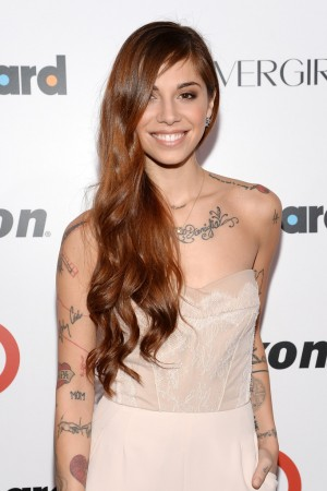 Christina Perri attends the 2013 Billboard Women Music Awards