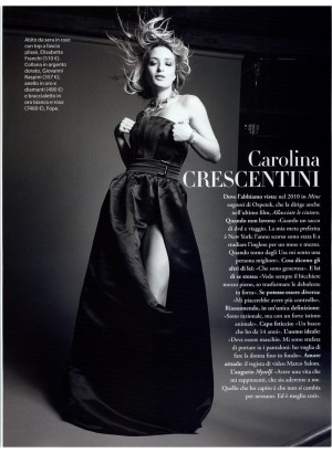 Carolina Crescentini stuns in Red Carpet collection