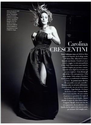 Carolina Crescentini stuns in Red Carpet collection