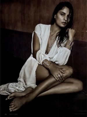 Catrinel Marlon shines in Vanity Fair