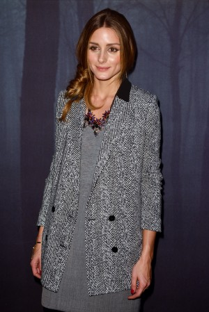 Olivia Palermo at Autumn-Winter 2014/15 Fashion Show